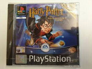 Harry-Potter-and-the-Philosopher-039-s-Stone-PS1-2001-UK-Version-New-amp-Sealed