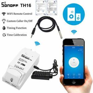 APP-Sonoff-TH16-Remote-Controller-Smart-WIFI-Switch-Temperature-Humidity-Sensor