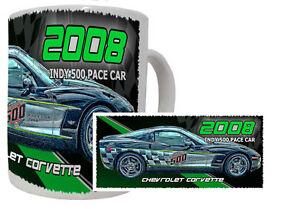 2008-INDY-500-PACE-RACE-CAR-CHEVROLET-CORVETTE-11-OZ-COFFEE-MUG