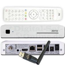 ► VU+ Zero DVB-S2 Linux Full HD SAT Receiver USB LAN WLAN Weiss
