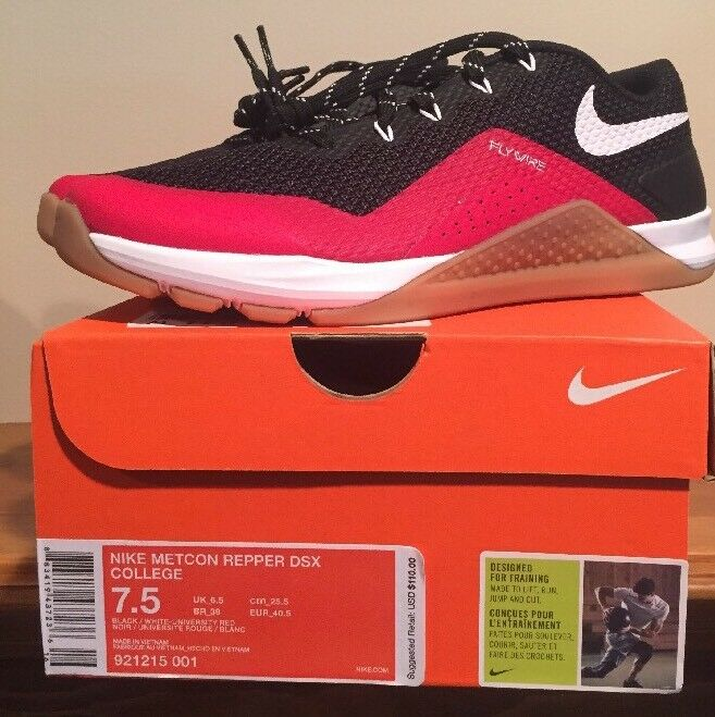 Hombre Nike metcon State REPPER DSX College Ohio State metcon Training zapatos SZ 7,5 921215 001 a520fe