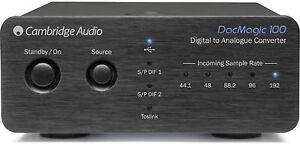 Cambridge-Audio-DAC-Magic-100-Black-new-guarantee-Italy