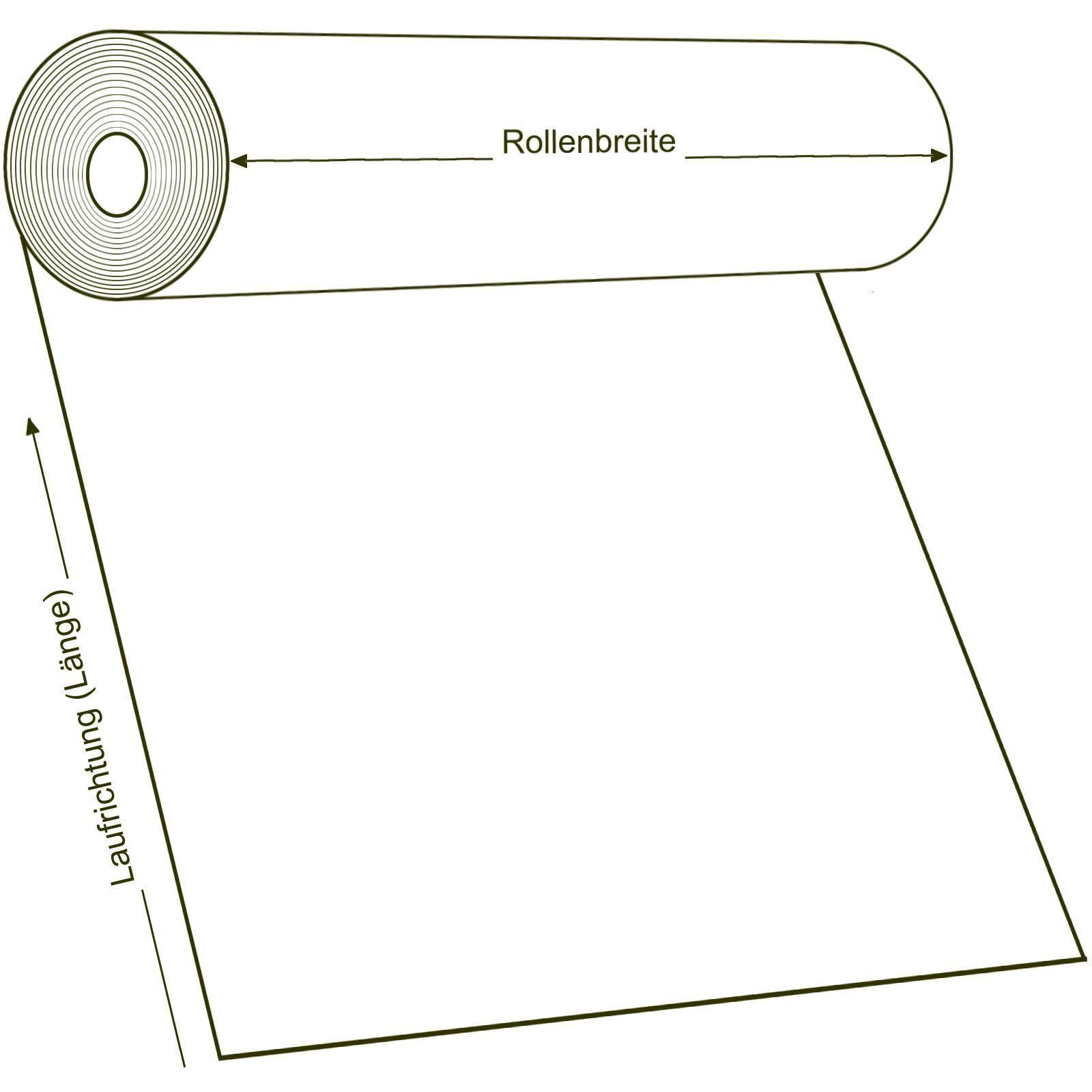 Muster DIN A4 8,90 /€ p. m/² PVC Bodenbelag Noppenbelag Noppe Uni Grau