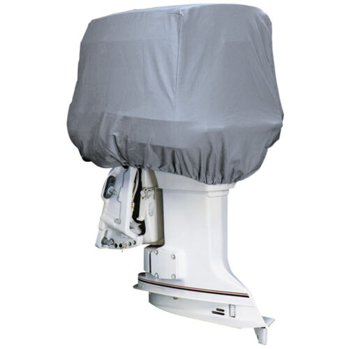 Attwood Marine 10540 Road ReadyT Cotton Heavy-Duty Canvas Cover Outboard Motor