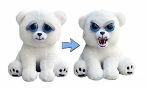Karl The Snarl animal en peluche (ours polaire), Pote pets peluche personnage, Prank Pet Polar Bear 							 							</span>