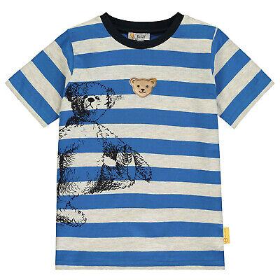 """STEIFF® Jungen T-Shirt kurzarm Bär /""""Sailing Tour/"""" 80-116 F//S 2019 NEU!"""