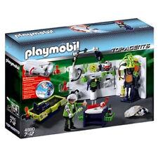 Playmobil 4880 robo-gangster laboratorio con multifunción lámpara de bolsillo nuevo con embalaje original!