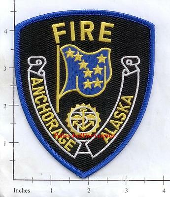 Adak Fire Department Patch Alaska AK