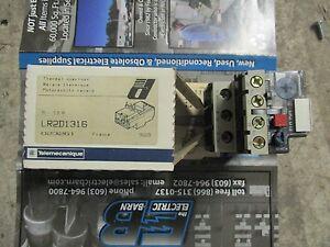 Telemecanique LR2D1316, 9-13 Amp Overload Relay- NEW