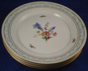 4-KPM-Berlin-Porcelain-Kurland-Pattern-Decor-41-Dinner-Plate-s-Porzellan-Teller