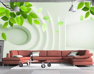 3D greene Blätter Kreativ 56 Tapete Tapeten Mauer Foto Familie Tapete Wandgemälde