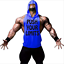 Men/'s Hoodie Vest Muscle Stringer Bodybuilding Punisher Gym Tank Top T-Shirt UK