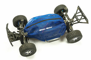 Shroud-Cover-for-Traxxas-Slash-4x4-by-Dusty-Motors-BLUE-COLOR