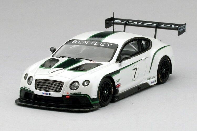 Bentley Continental Gt3 2013 Goodwood Festival Of Speed en 1 43 Escala por Tsm