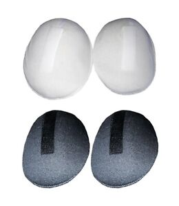 4-or-10-Pair-of-One-Size-Shoulder-Pads-Cushions-with-Hook-amp-Loop-Fasteners-16X12cm