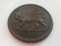 British Copper Company Half Penny Token 1813 (2571B)