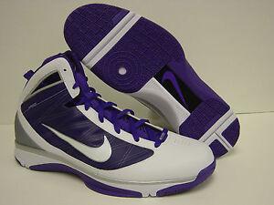 b03c035ec2edca NEW Mens NIKE Hyperize TB 367181 118 White Purple Basketball ...