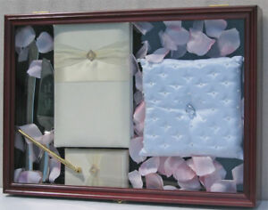 Wedding/Baby Shower/ Scout Memorabilia Shadow Box Display Case Cabinet: SH-F009