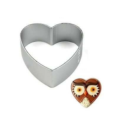 Aluminium Alloy Pastry Biscuit Cookie Cutter Baking Mould Loving Heart Shaped
