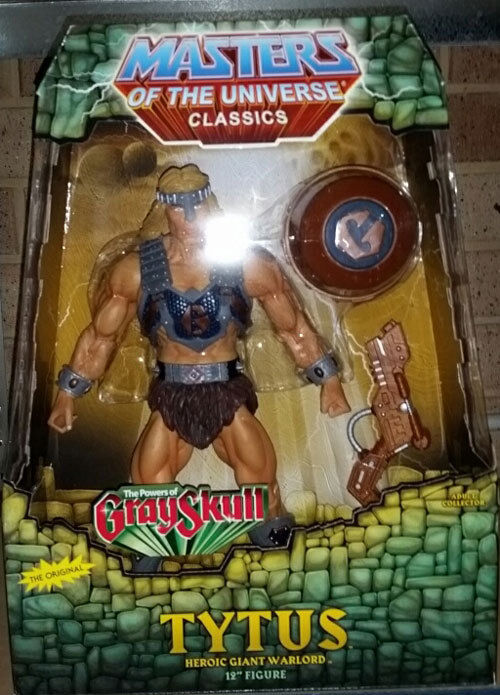 Masters of the Universe Classics Tytus (The Powers of grauskull) - Brand New