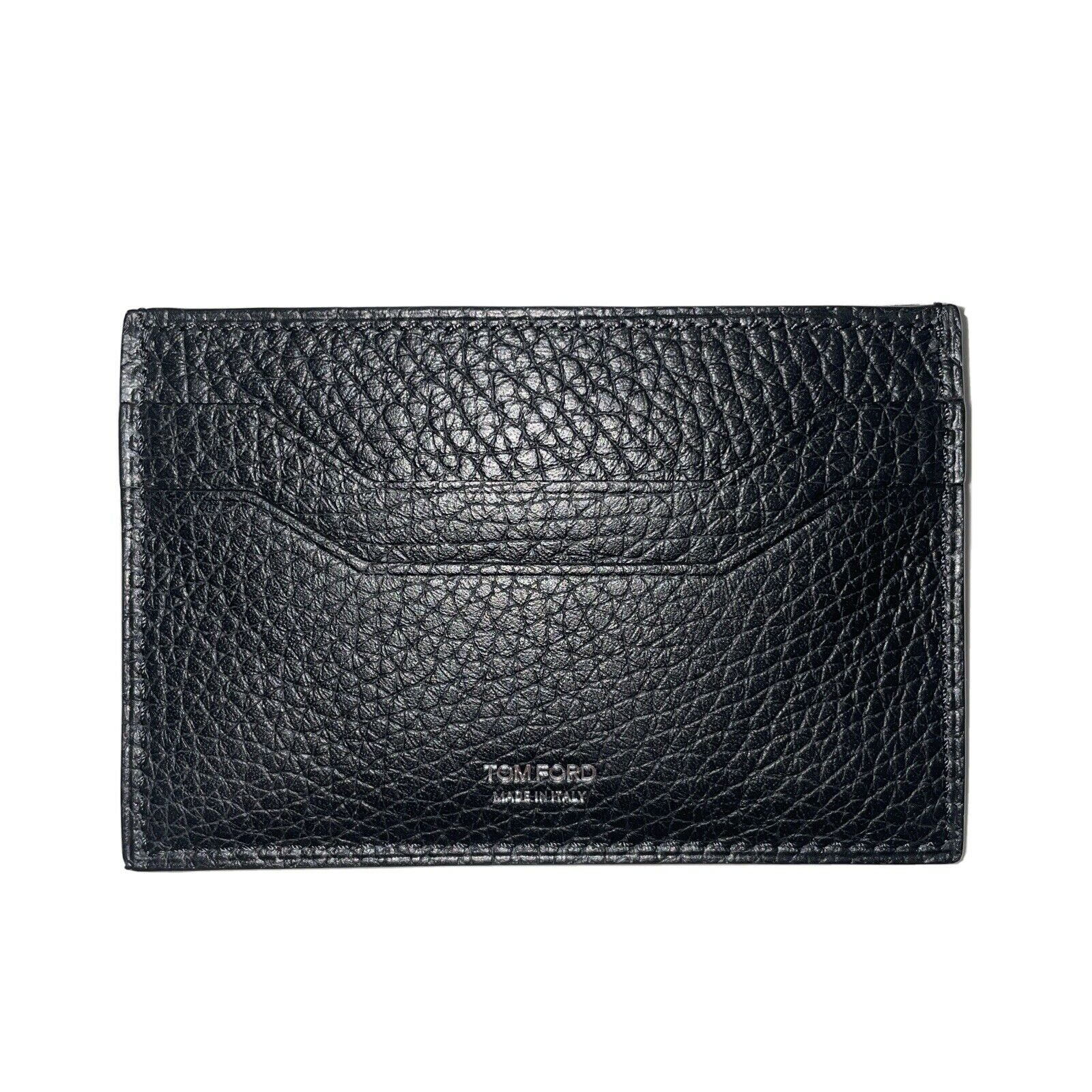 NWT TOM FORD Card Case Wallet Holder Black 11 x 7 cm 100% Calf Leather