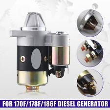 FS Starter Motor For Kipor Kama 170F 173F 178F 186F 188F 192F Diesel Generator