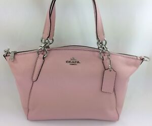 Image Is Loading New Coach F26917 F36675 Leather Small Kelsey Satchel