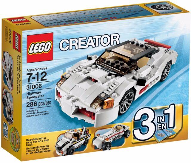 LEGO Creator Highway Speedster (#31006)(Retired 2013)(Very Rare)(NEW)