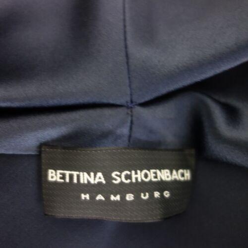 Neu Satin Wickelbluse Schoenbach Blau 249 Damen Np Gr Oberteil Bluse Bettina 40 1ZqCA