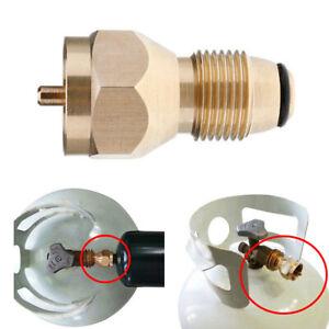 Gasflaschenadapter-Propangasflaschen-Adapter-Stutzen-Druckregler-fuer-europaeische