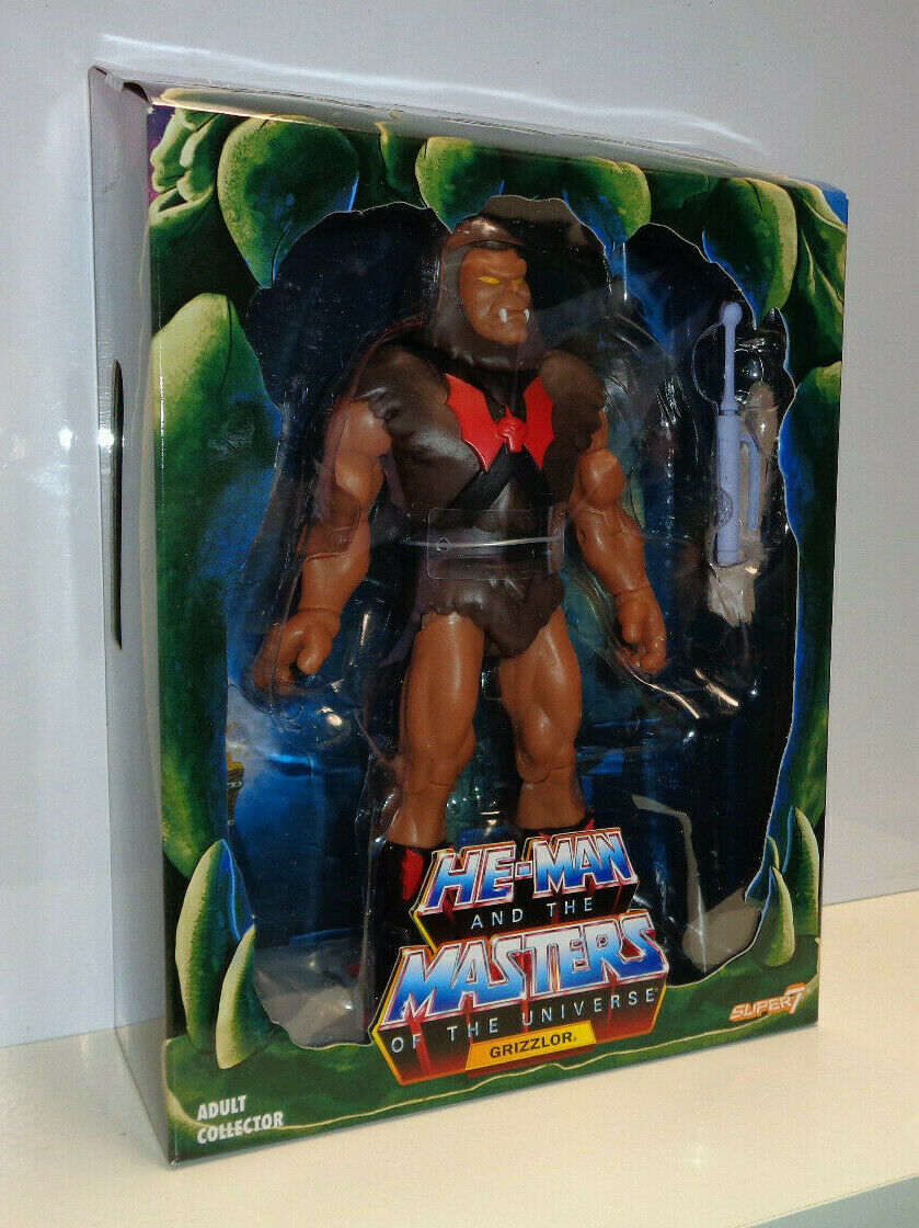FILMATION GRIZZLOR Masters of the Universe Classics He-Man MOTUC 2019 MIB