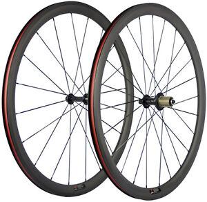 Carbon-Road-Wheels-38mm-Bicycle-Wheelset-700C-Carbon-Wheels-3K-Matte-Front-Rear
