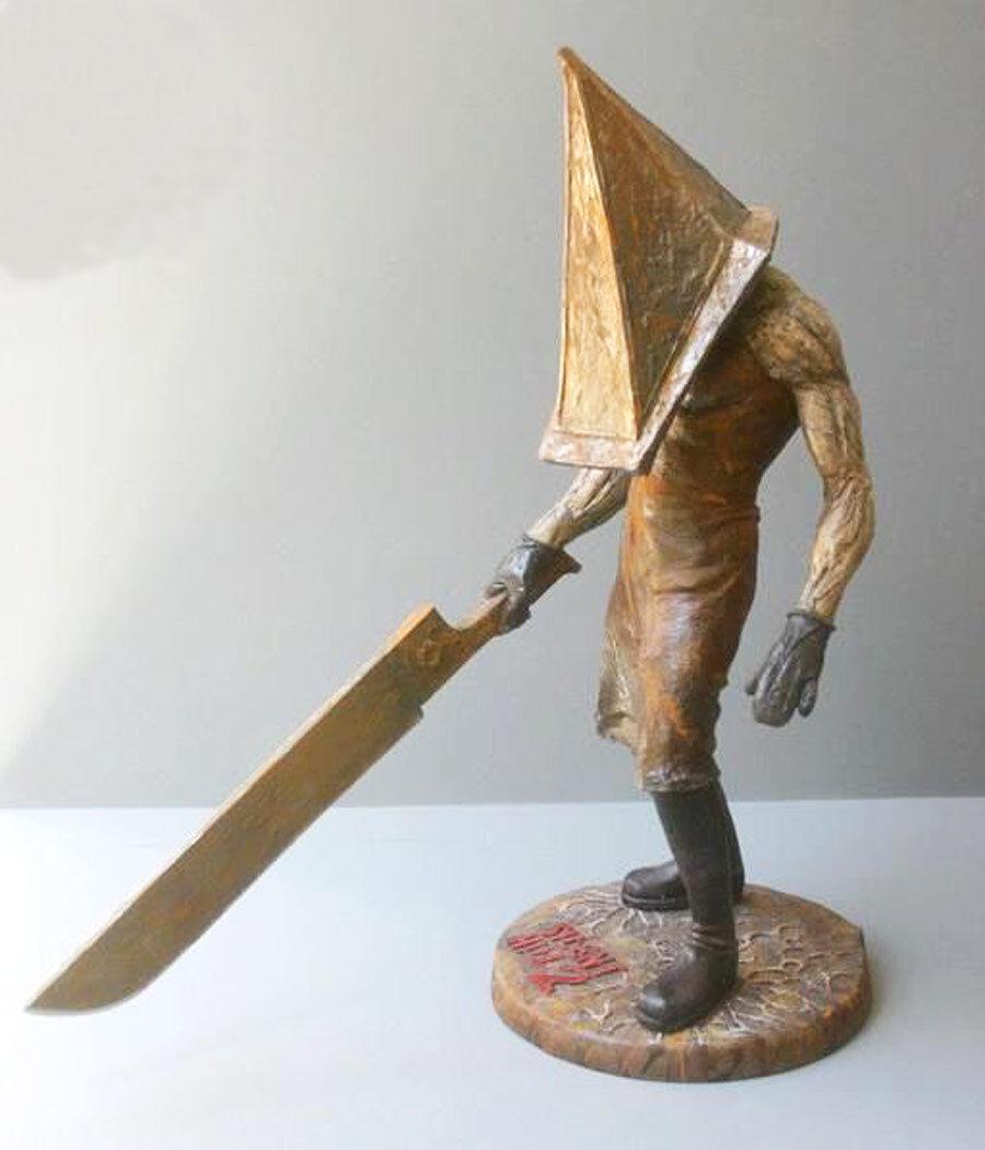 Pyramid Head Silent Hill 2 Demon 1 6 Unpainted Statue Figure Model Resin Kit