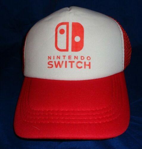 Nintendo Switch Trucker Cap Hat Snapback