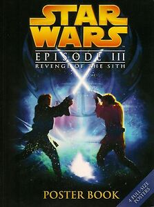 Star Wars Episode Iii Revenge Of The Sith Poster Book 4 Different Posters Unused Ebay