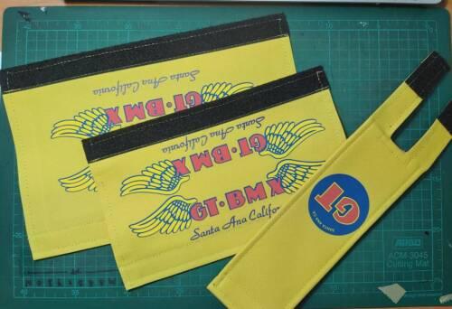 GT Santa Ana BMX yellow Padset 3 Piece