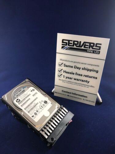 1 von 1 - HP 581284-B21 581310-001 450 GB 6G SAS Intern 10000 U/min SFF DP 6.3cm