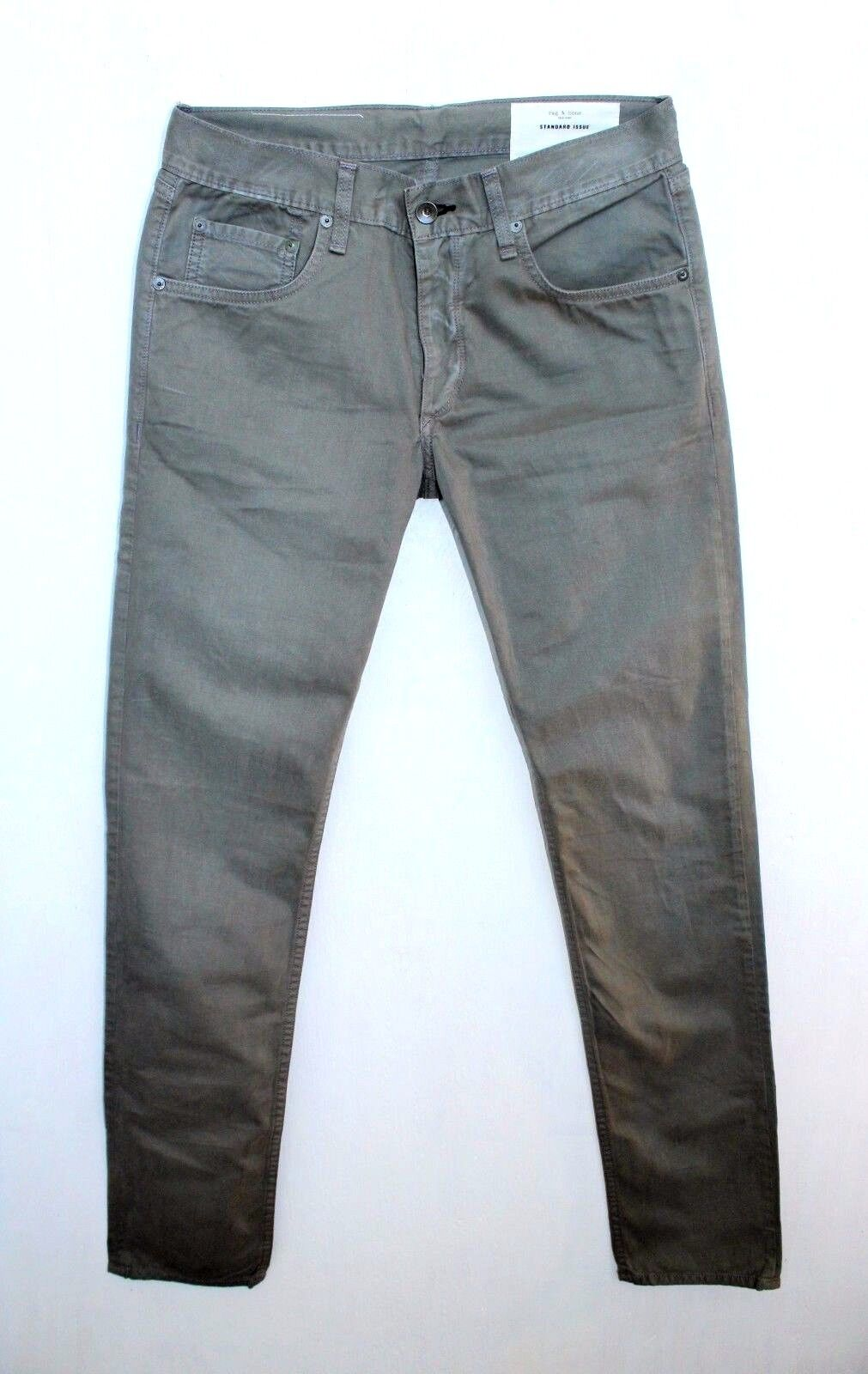 Men's Rag & Bone tapered Fit 2, distressed grey, pants, jeans, s. 29, 30