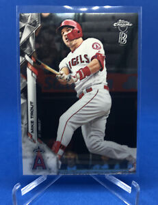 Mike Trout Los Angeles Angels 2020 Topps Chrome Ben Baller Base Card #1