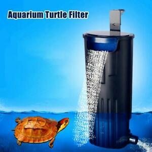 Turtle-Internal-Filter-Low-level-water-Amphibian-Aquarium-Frog-fish-tank-reptile