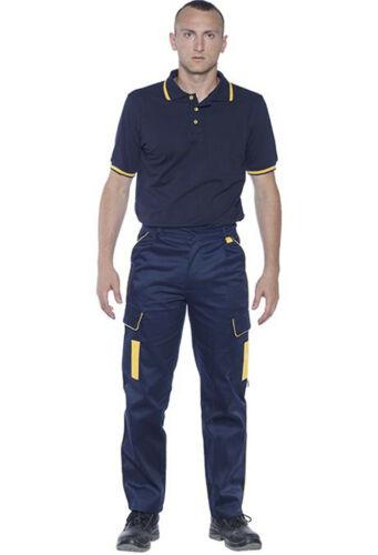 Pantaloni da Lavoro Uomo Multitasche Donna Pantalone Cargo Professionali Tasche