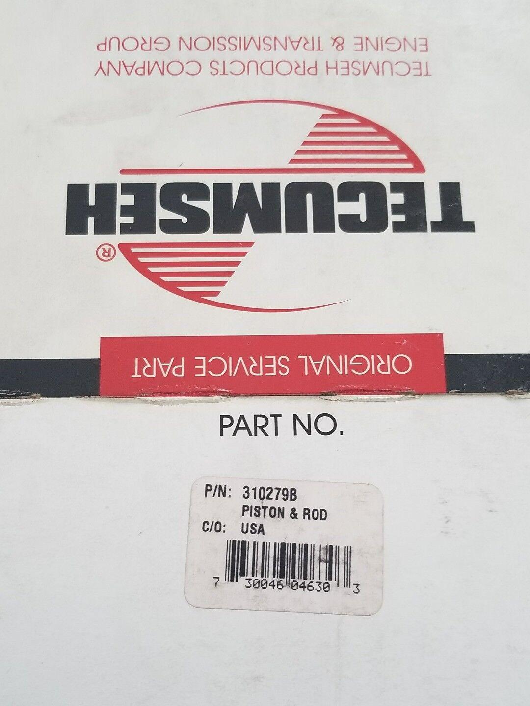 Genuine Oem Tecumseh 310279B Kit de varilla del pistón & parte Vintage  Envío Gratuito Rápido