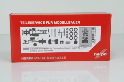 2 pezzi-N Herpa telaio per Scania Hauber/'96-2 ACH 080620//hn42