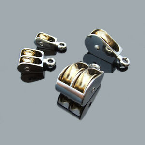 Double Pulley 36MM Swivel Pulley,Mini Metal Fixed Pulley Sheave Rigging Lift Hoist Rope Lifting Wheel