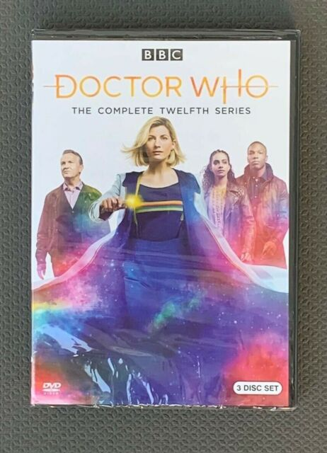 Doctor Who Season 12 (DVD, 2020, 3-Disc Set) Brand New Free 1st Class Shipping.