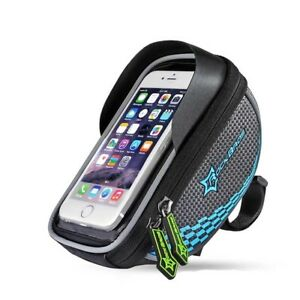 RockBros Bicycle Handlebar Bag Pannier for Touchscreen Bike Phone Holder Bag