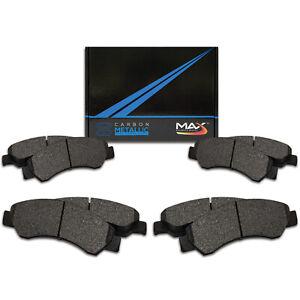 See Desc. Max Performance Metallic Brake Pads F+R 2008 Mercedes Benz GL450