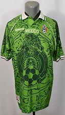 VTG Garcis Mexico Team 1999 Home Camiseta Futbol Footbal Soccer Jersey Shirt XL