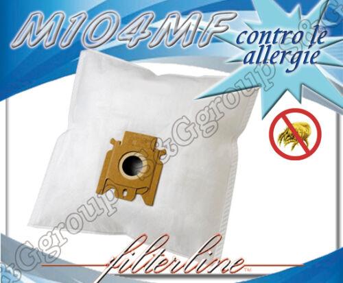 M104MF 5 sacchetti filtro microfibra aspirapolvere Miele dal S 267i al S 284i