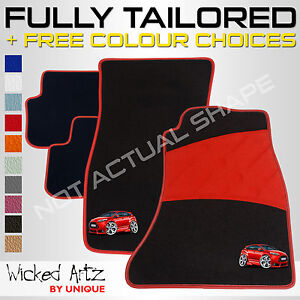 Ford Focus Car Mats St Mk3 2011 2015 Fully Tailored Customise
